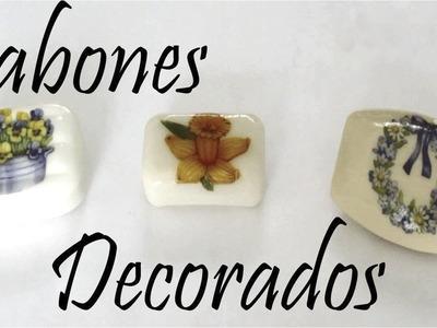 Como decorar Jabones. Decorated Soaps - MikoSaa
