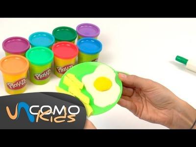 Cómo hacer comida con play doh