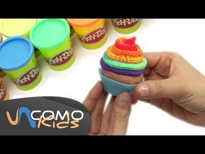 Cómo hacer Cupcakes de plastilina Play-Doh