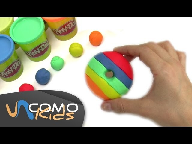 Cómo hacer Donuts con plastilina Play Doh