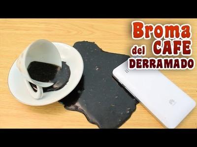 Como hacer la Broma del café derramado - Charlie Charlie