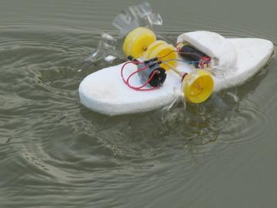 Cómo hacer un barco de rueda de paletas -  Haciendo juguete