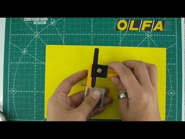 Cómo hacer una Manualidad con el Compas de Corte Olfa CMP 1
