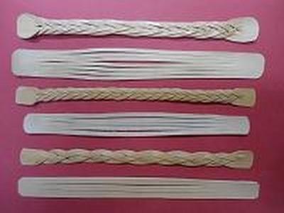 Como hacer una trenza misteriosa de cinco cabos con cuero