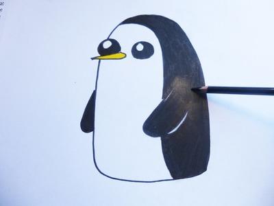 Dibujando y coloreando a ghunter - drawing and coloring to ghunter