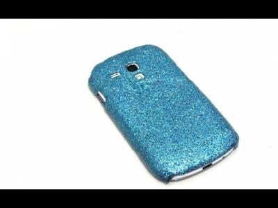 DIY  ♥ Decora el forro de tu celular.
