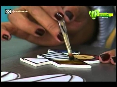 Espazio Ideal Vitral sobre Madera 20 de octubre 2014 Telecafé