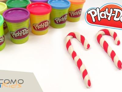 Figura de navidad con Play-Doh