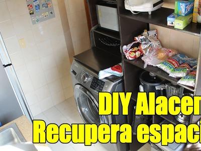 Hagalo usted mismo - Hacer Muebles de cocina - Alacenas en MDF (DIY pantry)