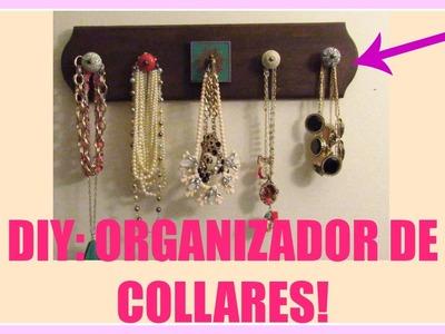 Has tu Propio Organizador de Collares