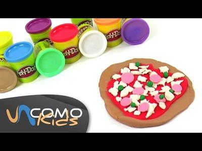 Pizza de Play doh muy fácil de hacer