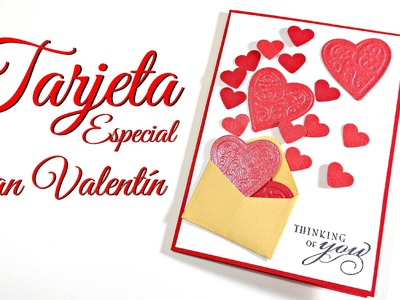 Tutorial: Tarjeta Especial San Valentín | Mundo@Party