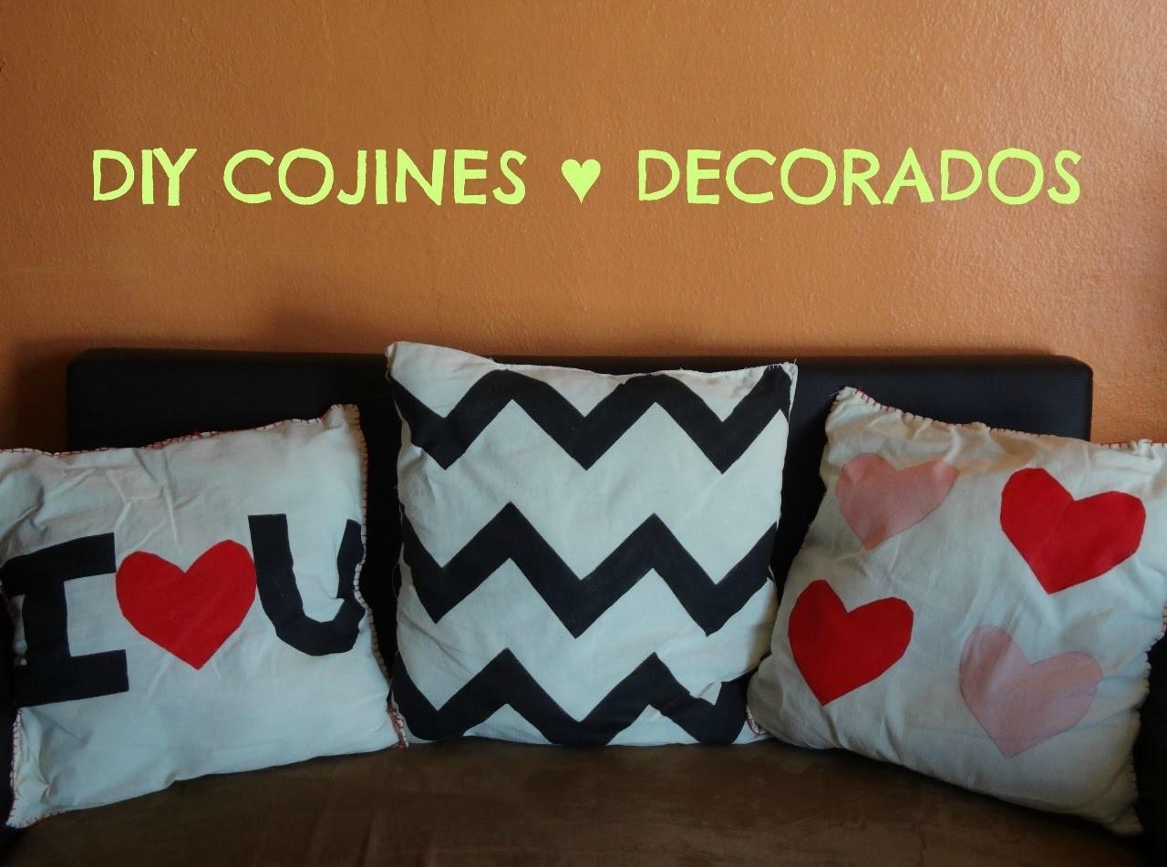 Como hacer cojines decorativos modernos de tela a mano - Como hacer cojines decorativos ...