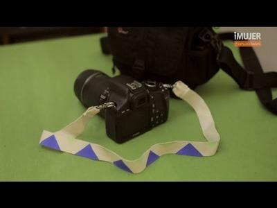 Cómo hacer una correa para cámara de fotos