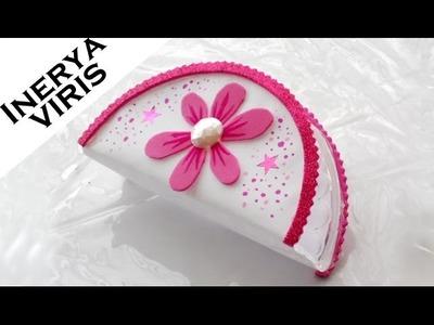 Como decorar SERVILLETEROS - Flor de fiesta - Cumpleaños - Quinceañera - Tutorial - Inerya viris