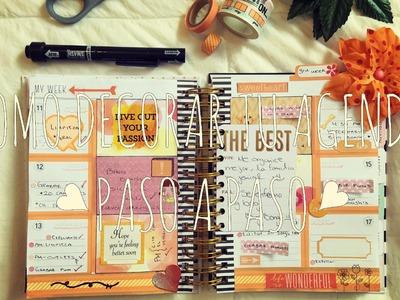 Como decorar tu agenda ♥ 2016 ♥ Plan with me 3 ♥ Planner