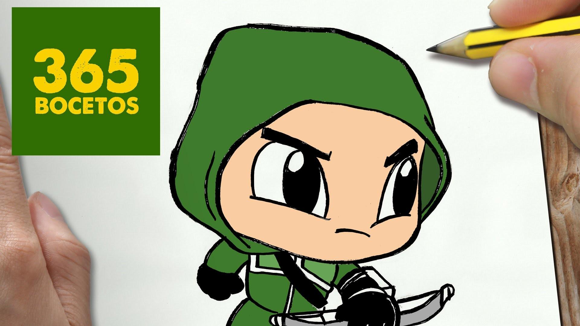Como Dibujar Una Libreta Kawaii Paso A Paso Dibujos Kawaii: COMO DIBUJAR ARROW KAWAII PASO A PASO