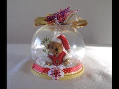 Cómo hacer Burbujas de navidad. Adornos navideños