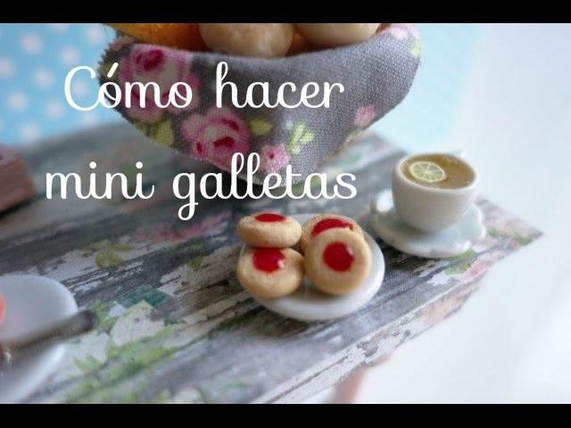Cómo hacer mini galletas (MUY FACIL DE HACER)