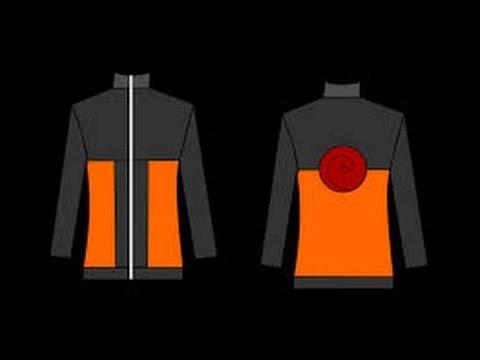 Como hacer una chamarra de Naruto + patrones.