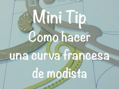 ♥ Como hacer una regla curva francesa para diseño de patrones ~ diseño de modas