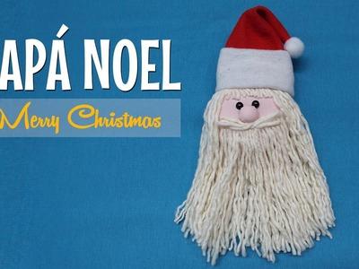 DIY - Como hacer Papa Noel para decorar en navidad