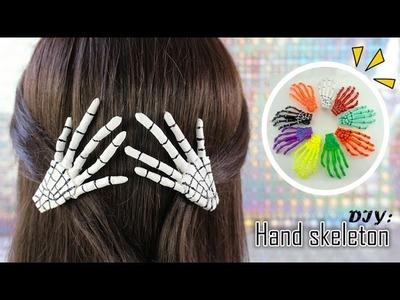 DIY: Manos De Esqueleto | Skeleton Hand