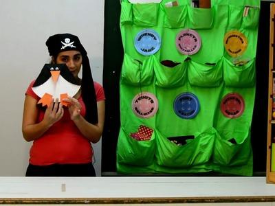Hacemos un pingüino en 'El Rincón de las Manualidades Piratas'.