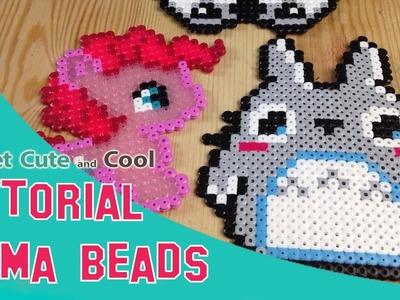 Hama Beads o Perler Beads, Que son y tutorial de Totoro!!