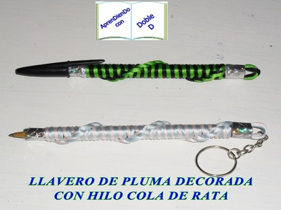 LLAVERO DE PLUMA 2