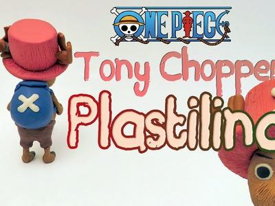 One Piece - Tutorial como hacer a Tony Chopper en plastilina porcelana fria clay