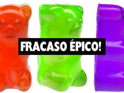 OSO GOMOSO: MI PRIMER FRACASO HACIENDO MANUALIDADES- FRACASO TOTAL!