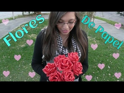 Rosas de papel - Ingenio KD