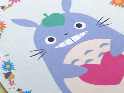 Tarjeta de Totoro para regalar || Totoro Card for a Gift || Kaele