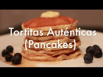 Tortitas Americanas Receta Original - Pancakes