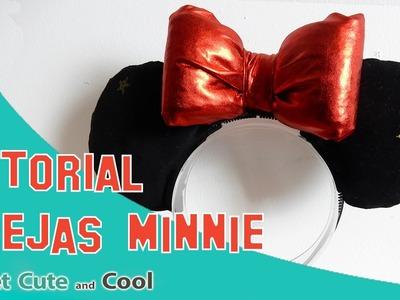 Tutorial Disney!! Haz tus orejas de Mickey o Minnie super fácil!!