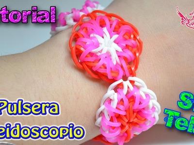 ♥ Tutorial: Pulsera Caleidoscopio (sin telar) ♥