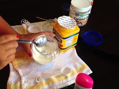 Vero Hoy - DIY Desodorante hecho con aceite de coco