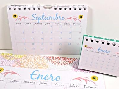 Cómo hacer tu propio calendario (Parte #2) | Calendarios de Pared | Mundo@Party