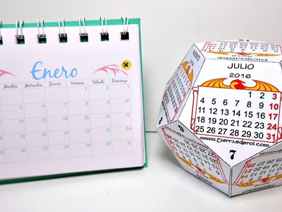 Cómo hacer tu propio calendario (Parte #1) | Calendarios de Escritorio | Mundo@Party