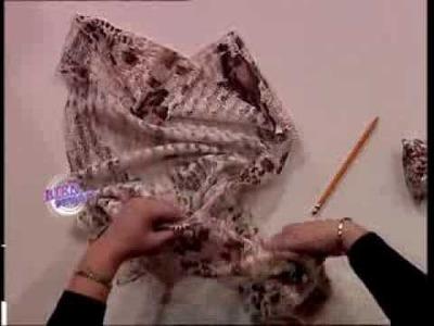 Liliana Villordo - Bienvenidas TV - Enseña la costura de una chaqueta cruzada.