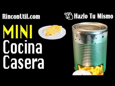 Mini cocina casera | Hornillo o Fogón Casero