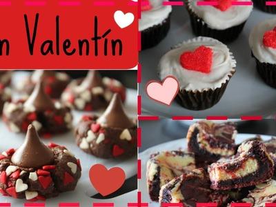 3 Postres para San Valentín! | PARTE 1