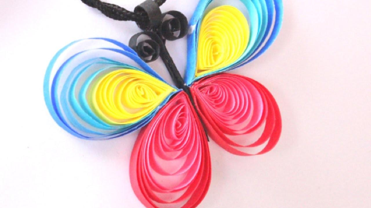 Crea Preciosos Colgantes de Mariposa de Filigrana - Hazlo tu Mismo Estilo - Guidecentral