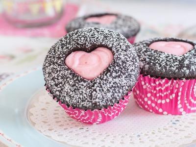 Cupcakes para San Valentín - Receta - María Lunarillos | tienda & blog
