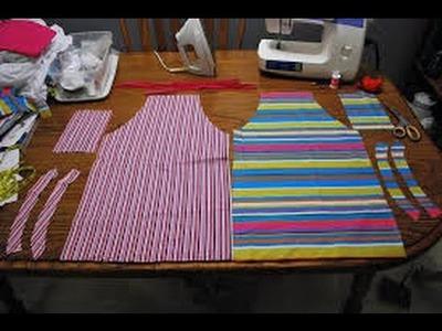 Delantal de cocina, molde del delantal de cocina, como hacer delantal?