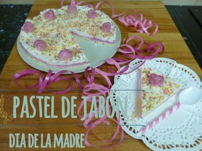 DIY Día de la Madre - Pastel de Jabón - #Nocambiesdetema