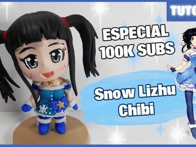 Especial ✰ Snow Lizhu Chibi (ArtzieRush) Polymer Clay Tutorial ✰ Porcelana Fría