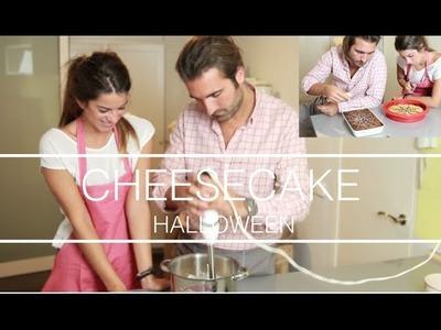 Halloween | Reto cheescake con Borja ¿Fail?