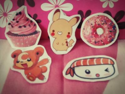 Haz stickers caseros!!~Fácil y económico♡